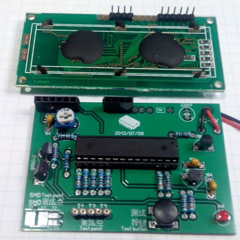для проверки транзисторов,